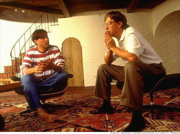 Steve Jobs and Bill Gates - The Nat Files